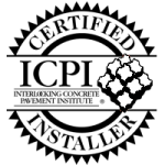 ICPI Certified Installer, to learn more about interlocking concrete pavers visit